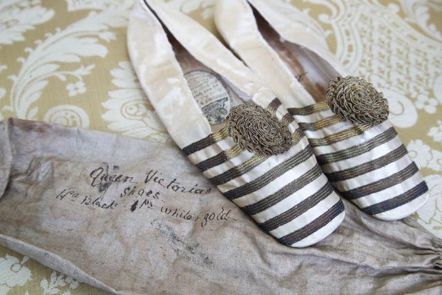 queen victoria slipper auction