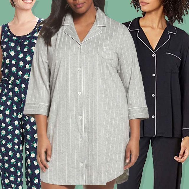 3 women in pajamas