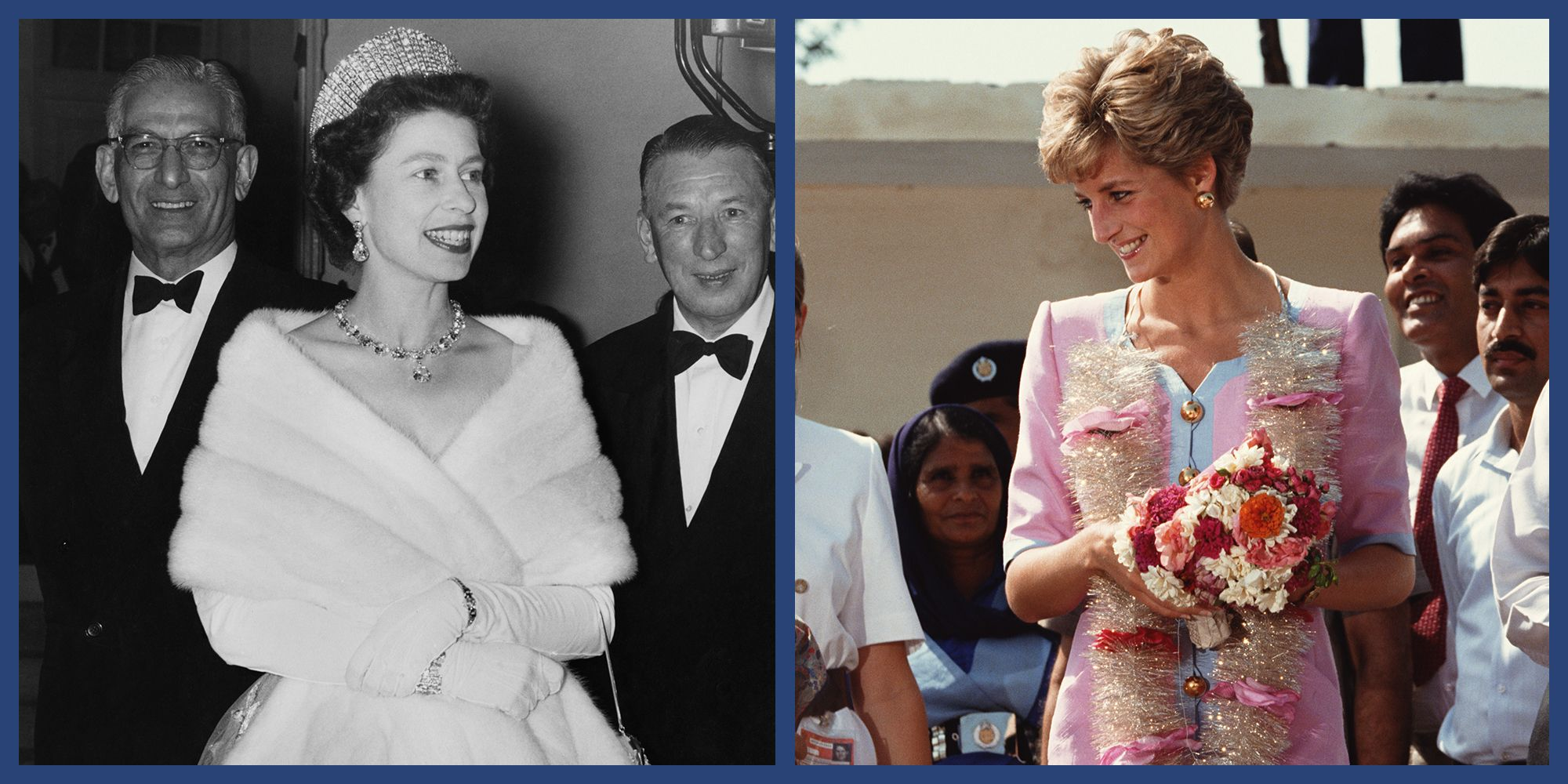 A Look Back at Queen Elizabeth, Princess Diana, and Other Royals on Their Tours of Pakistan