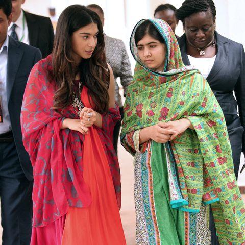 shiza shahid and malala yousafzai