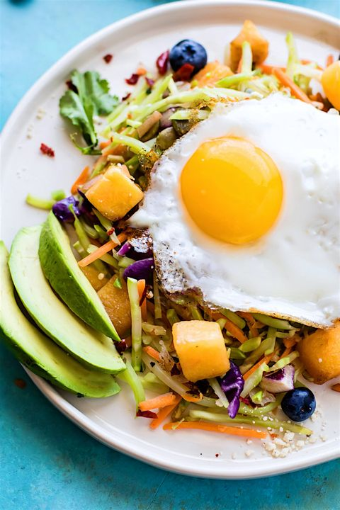 Dish, Food, Cuisine, Ingredient, Fried egg, Huevos rancheros, Poached egg, Produce, Breakfast, Meal,