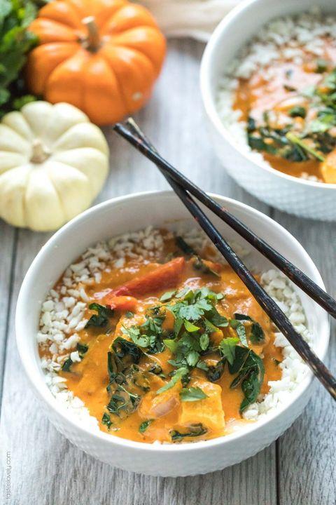 Pumpkin Coconut Thai Curry