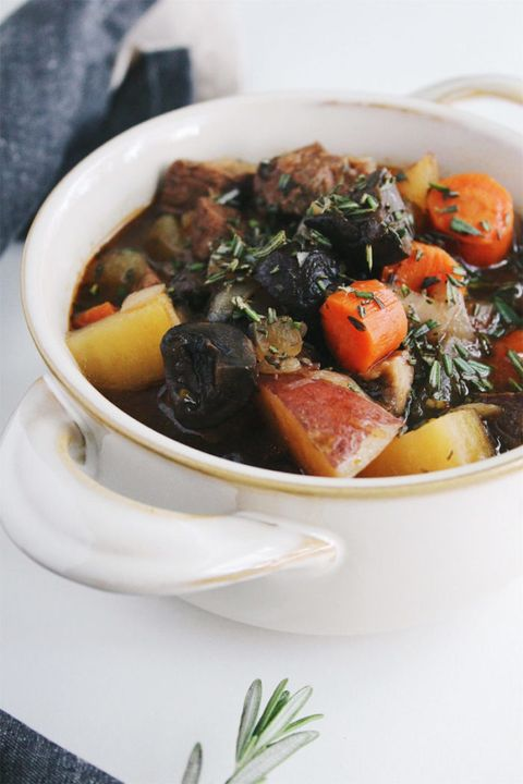 healthy slow-cooker soups: slow cooker paleo beef stew