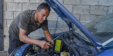 reparacion coche en casa