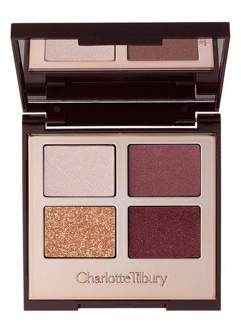 Eye shadow, Eye, Brown, Cosmetics, Beauty, Organ, Human body, Powder, Beige, Face powder,