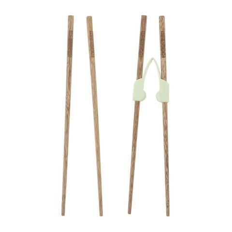 palillos chinos con pinza para aprendizaje