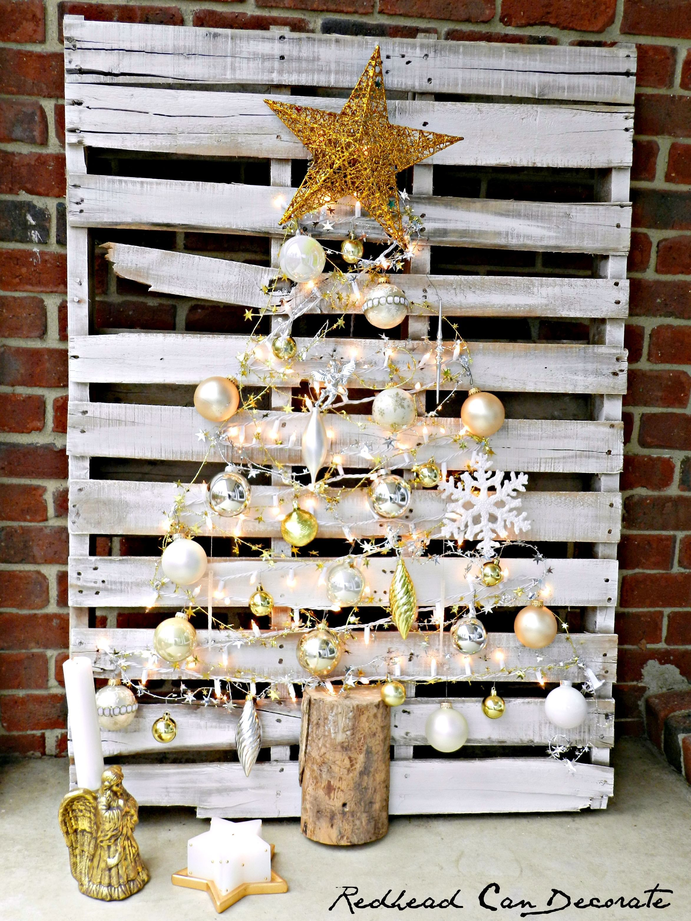 How to Make a Pallet Christmas Tree How to Make a Pallet Christmas Tree new pictures