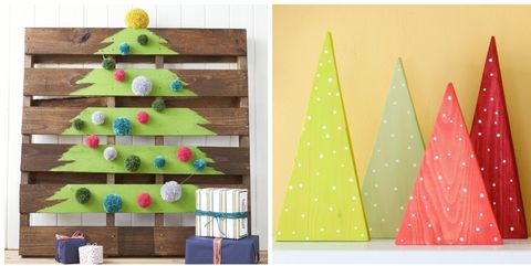 pallet christmas tree - Diy Wood Christmas Decorations