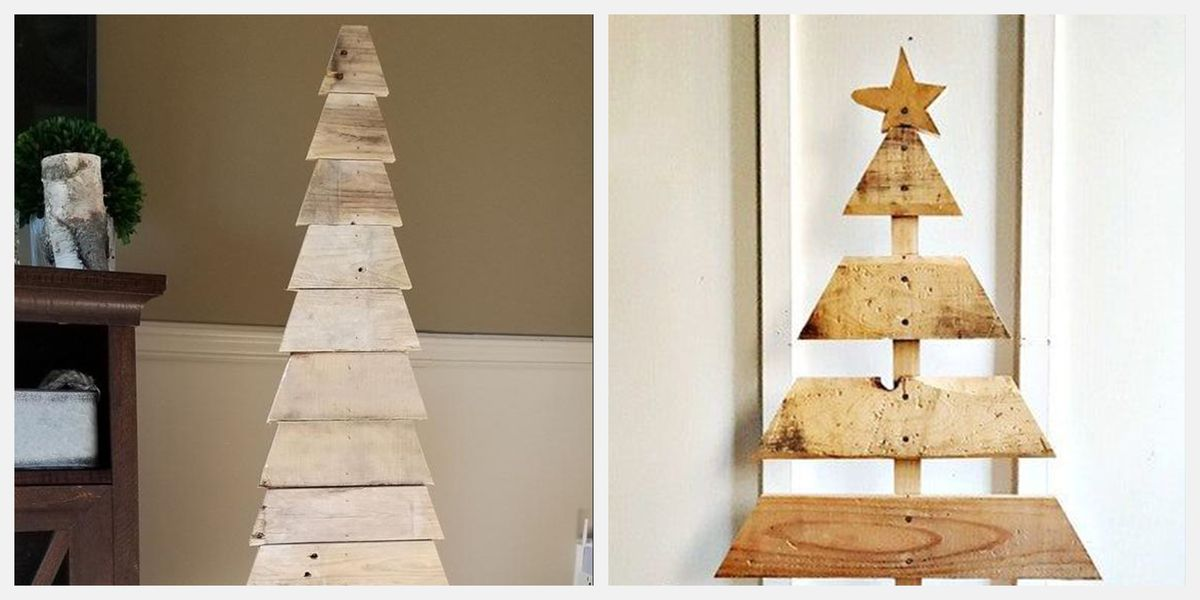 These Pallet Christmas Trees Will Make You Rethink Your Classic Pine