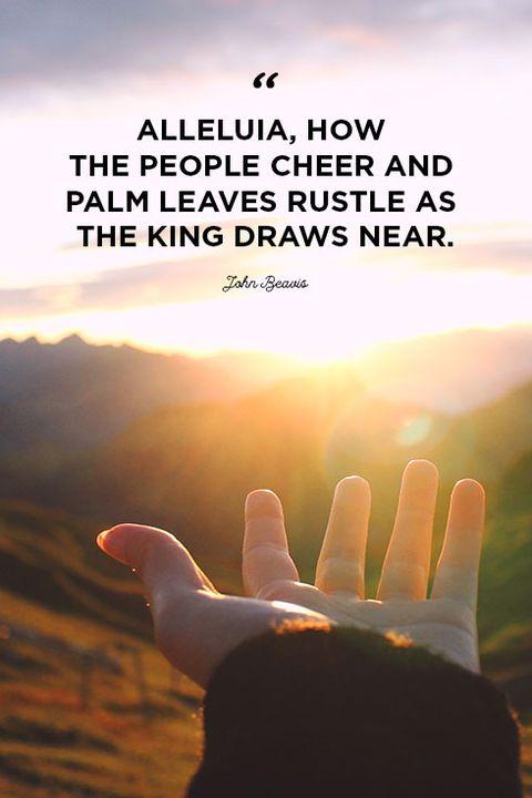 palm sunday scripture quotes