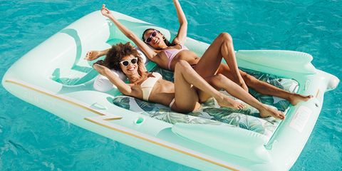 Fun, Leisure, Aqua, Mattress, Inflatable, Sun tanning, Games, Bed, Summer, Vacation,