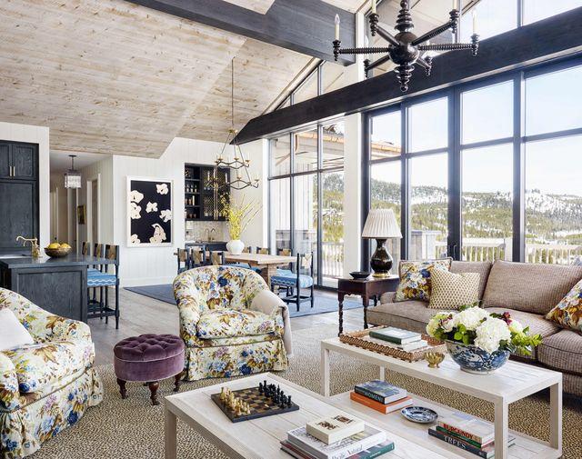 palmer weiss yellowstone club montana great room