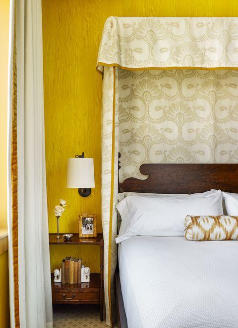 palmer weiss yellowstone club montana ochre bedroom