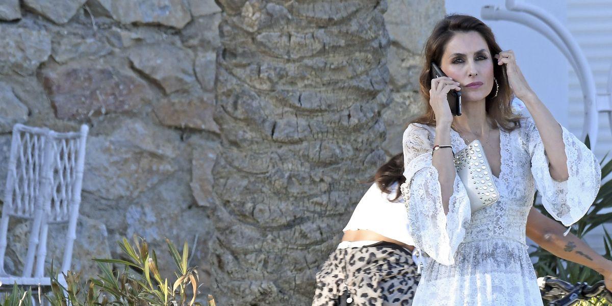 Paloma Cuevas se interesó por el estado de salud de Enrique Ponce tras su cogida