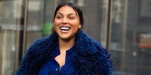 Paloma Elsesser op New York Fashion Week