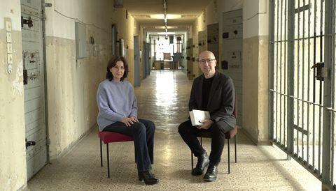 Paloma Sánchez-Garnica con Óscar López en Página Dos