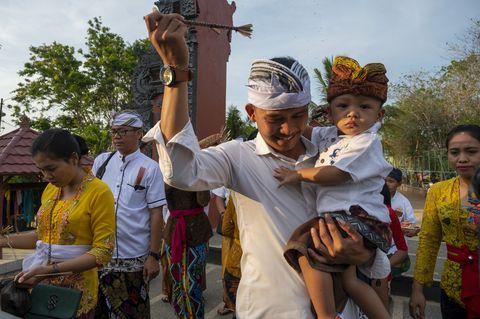 commemoration of saraswati day in central sulawesi