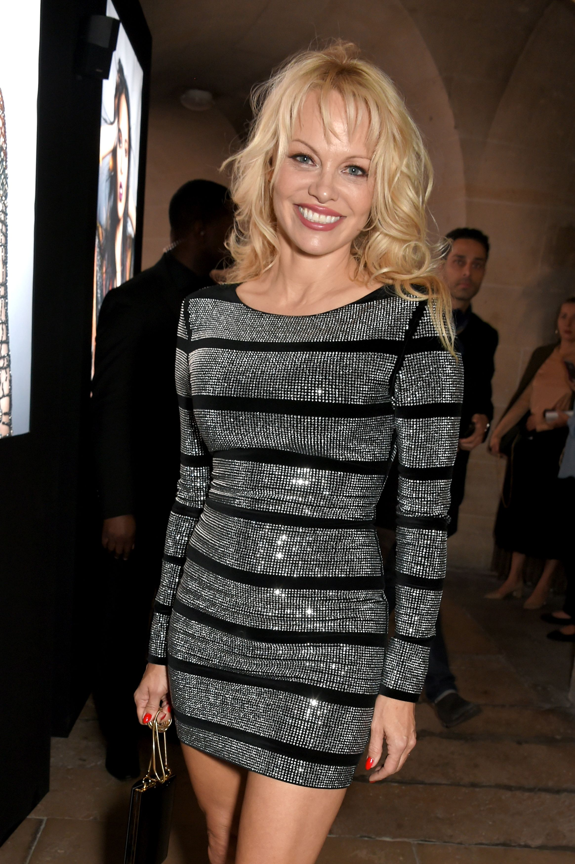 """Pamela Anderson In a blog post in 2017, titled """" FIGHT FAKE FOOD, NOT FAKE NEWS ,"""" Pamela made the case for eating vegan. """"So I say, veganism is about more than choosing not to eat animal products. Veganism is bigger than that. Veganism is about saving animals, saving ourselves, saving our societies, and saving our planet!"""""""