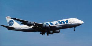 Pan Am - Pan American World Airways (msn19644 line number 13) Boeing 747-100 on final-approach