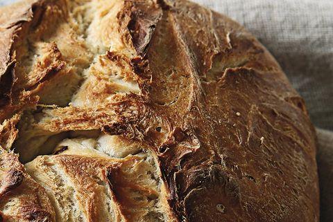 Pan relleno de queso y espinacas