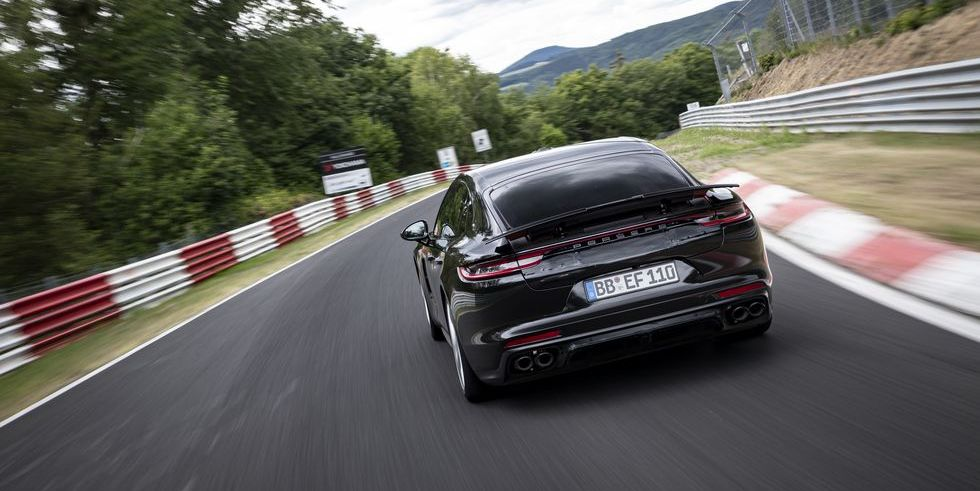 Watch Porsche's Record-Setting Nurburgring Lap