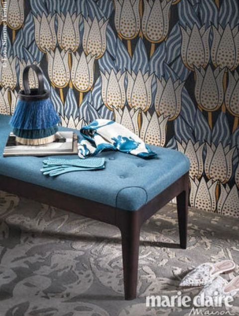 Blue, Textile, Room, Linens, Teal, Natural material, Collection,