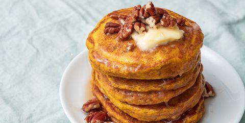 Dish, Food, Cuisine, Pancake, Ingredient, Breakfast, Meal, Baked goods, Produce, Dessert,