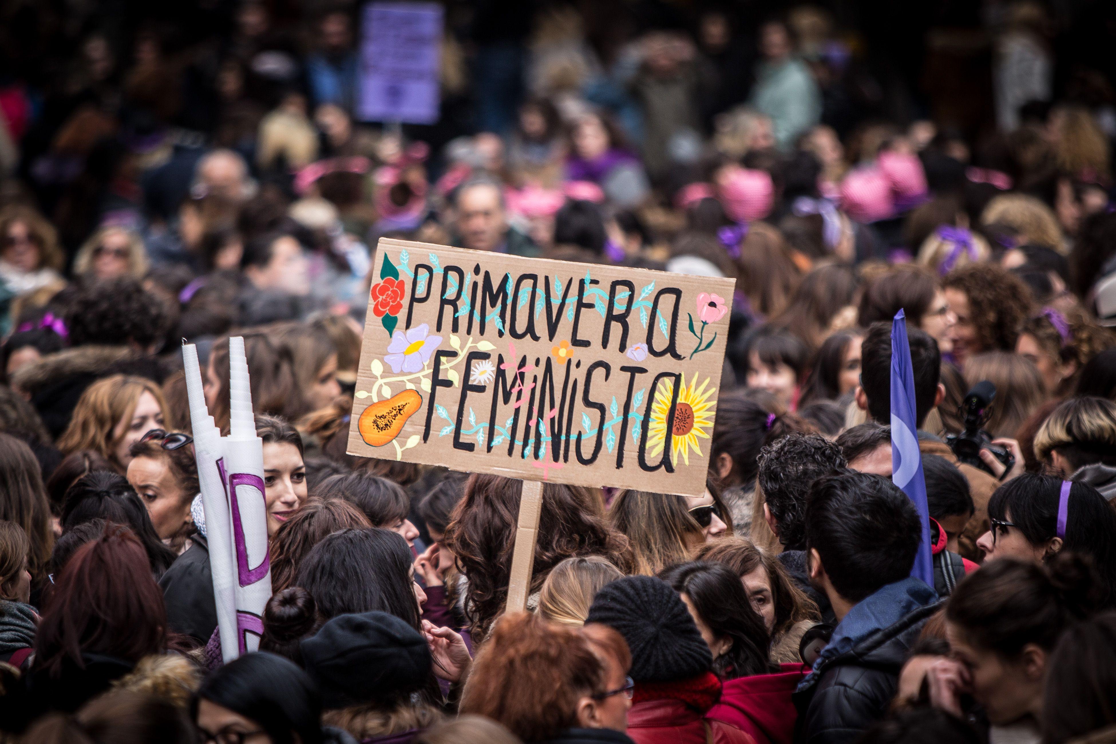 Pancartas Día de la mujer