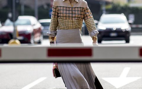 Street fashion, White, Photograph, Clothing, Fashion, Waist, Snapshot, Pedestrian, Street, Urban area,