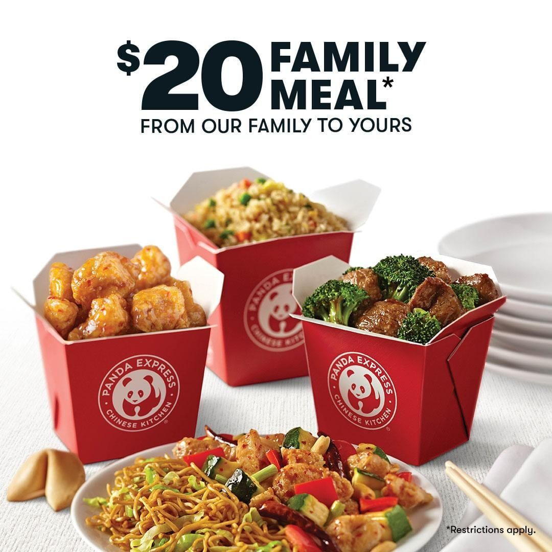 Panda Express Has A $20 Family Meal ...