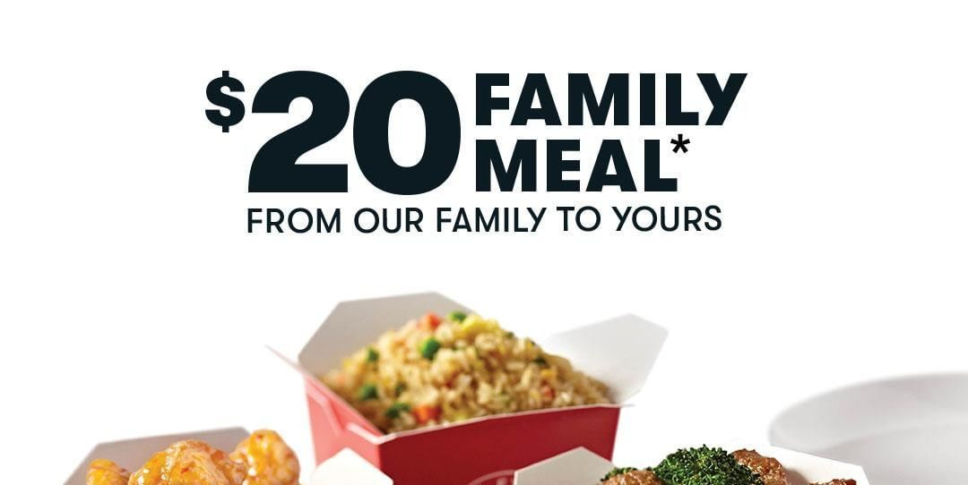 Panda Express Has A $20 Family Meal Deal This Month