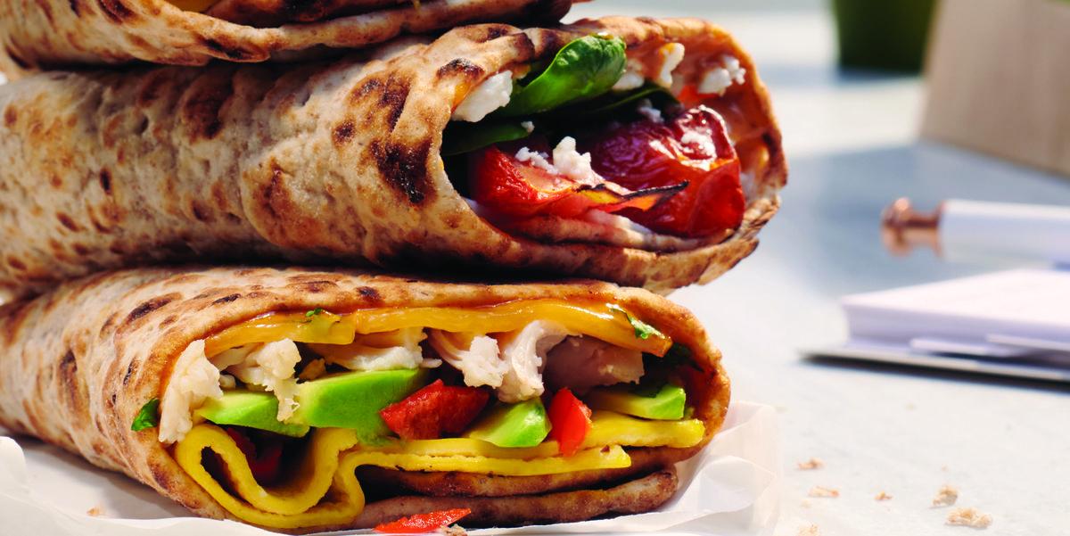 Panera Created Three Whole Wheat Breakfast Wraps New