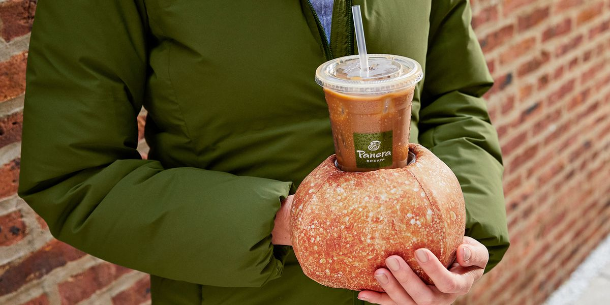 Panera Has Created A Bread Bowl Glove, So You Can Still Drink Your Iced Coffee In The Winter
