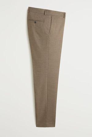 Pantalón slim fit de Mango