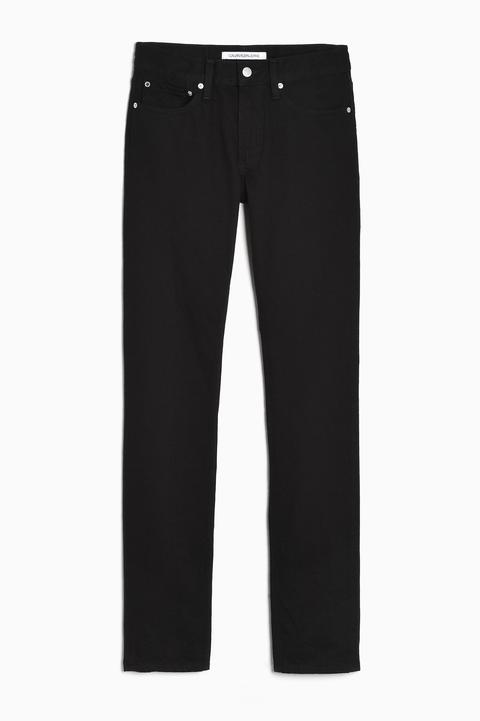Pantalón vaquero negro Calvin Klein Jeans hombre