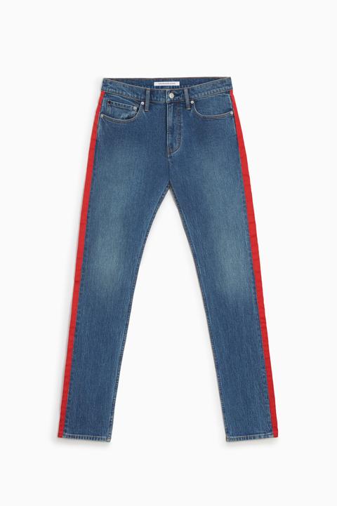 Pantalón vaquero raya lateral Calvin Klein Jeans