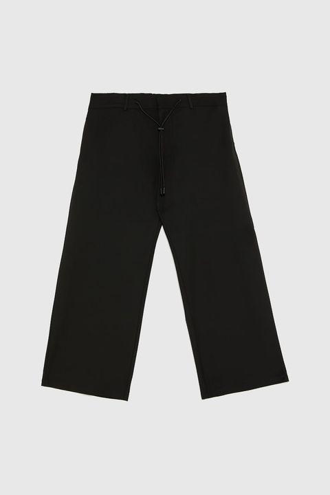 pantalon ancho zara