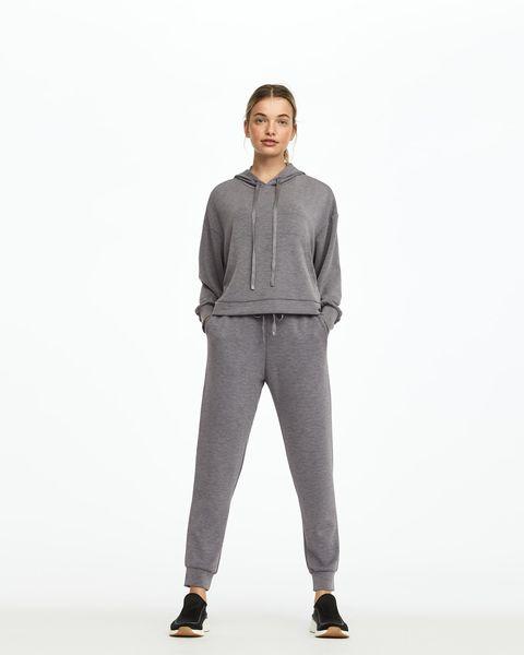Pantalón jogger de color gris