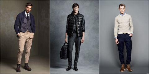 Clothing, Jeans, Denim, Fashion, Footwear, Fashion model, Standing, Outerwear, Human, Trousers,
