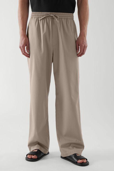 pantalones anchos hombre verano 2021