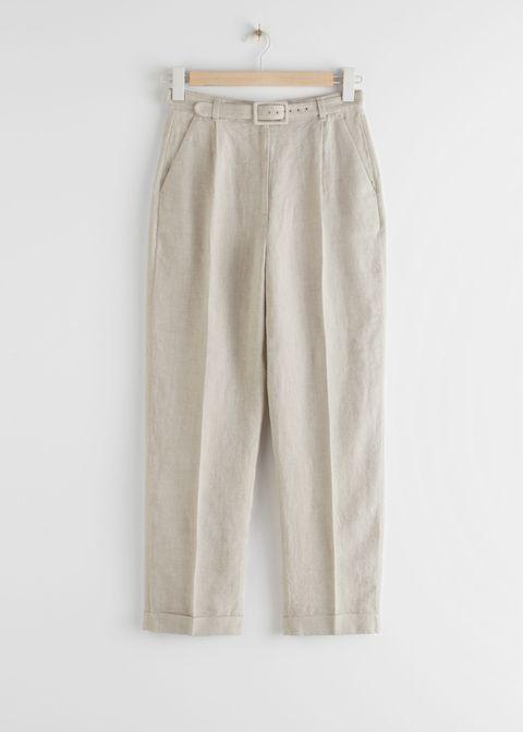 Pantalones de lino