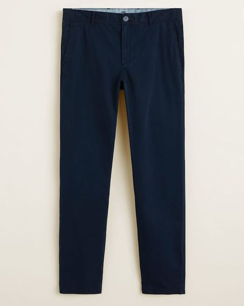 Pantalones chinos hombre Mango