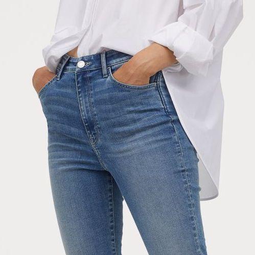 Si Eres Bajita Estos Pantalones Pitillo Elasticos De H M