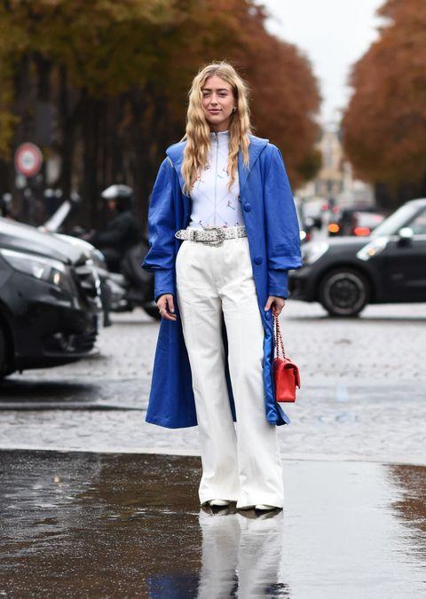 pantaloni autunno inverno 2021 2022 jeans bianchi