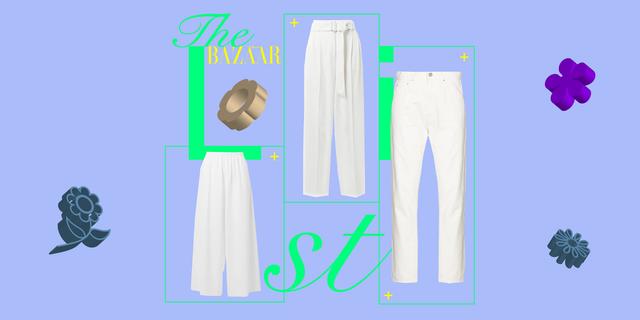 pantaloni bianchi estate 2021