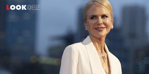Pantaloni bianchi moda 2019 Nicole Kidman