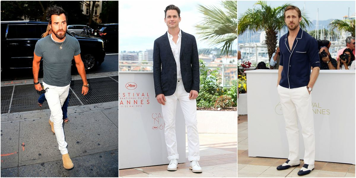 Pantaloni bianchi da uomo  sono eleganti o no  1fce821041a