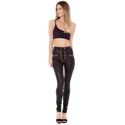 detailed look 135e4 03d0c Pantaloni di pelle autunno inverno 2019, come Chiara Ferragni