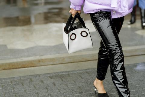 Pantaloni di pelle moda 2019