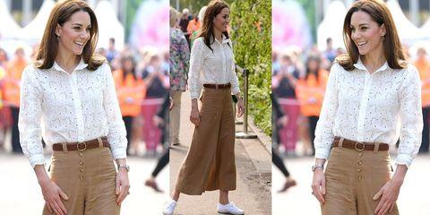 San Francisco 86721 afd93 Pantaloni primavera estate 2019, quelli di Kate Middleton ...
